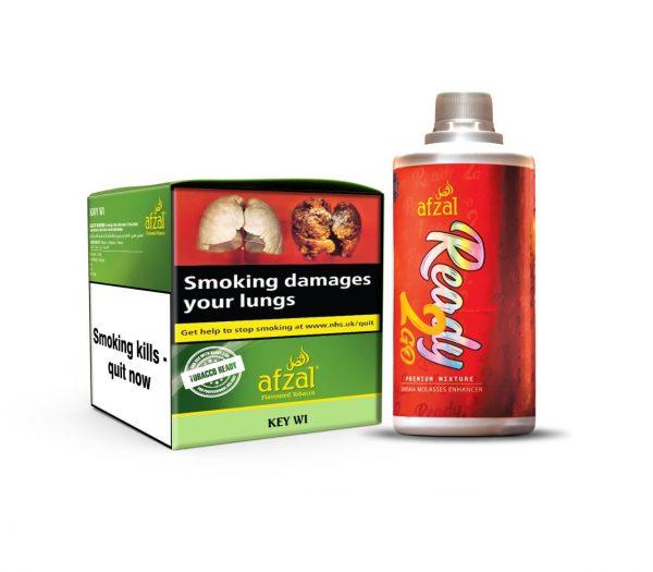 Afzal Kiwi flavour shisha tobacco