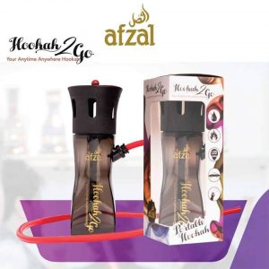 Afzal Hookah2Go Portable Travel Shisha