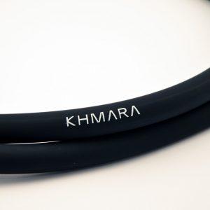 KHMARA Soft Touch Silicone hookah shisha Hose - BLACK