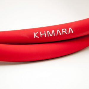 KHMARA Soft Touch Silicone hookah shisha Hose RED