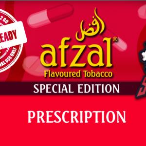 Afzal x TheShishaDoc Prescription