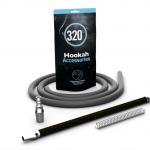 320 carbon hookah hose handle yellow