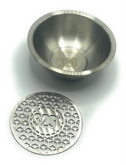 320 Stainless Steel Charcoal Holder