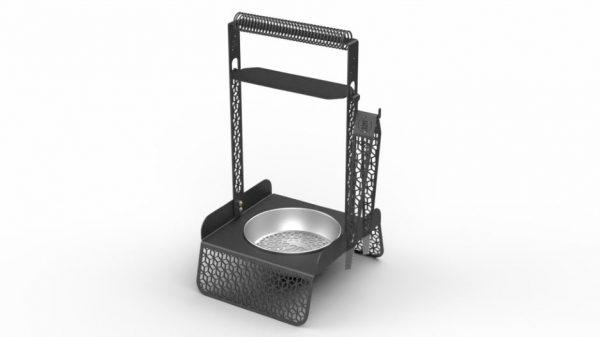 320 coal charcoal holder pan