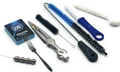 320 Hookah / Shisha Essentials Travel Kit