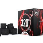 320° Premium Coconut Charcoal Coal (26mm Cube) for Shisha Hookah